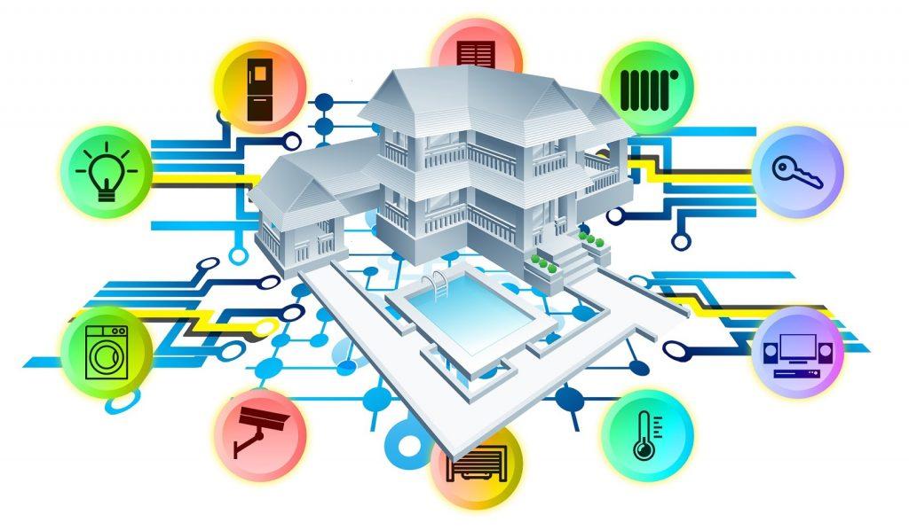 Smart homes blockchain iot applications