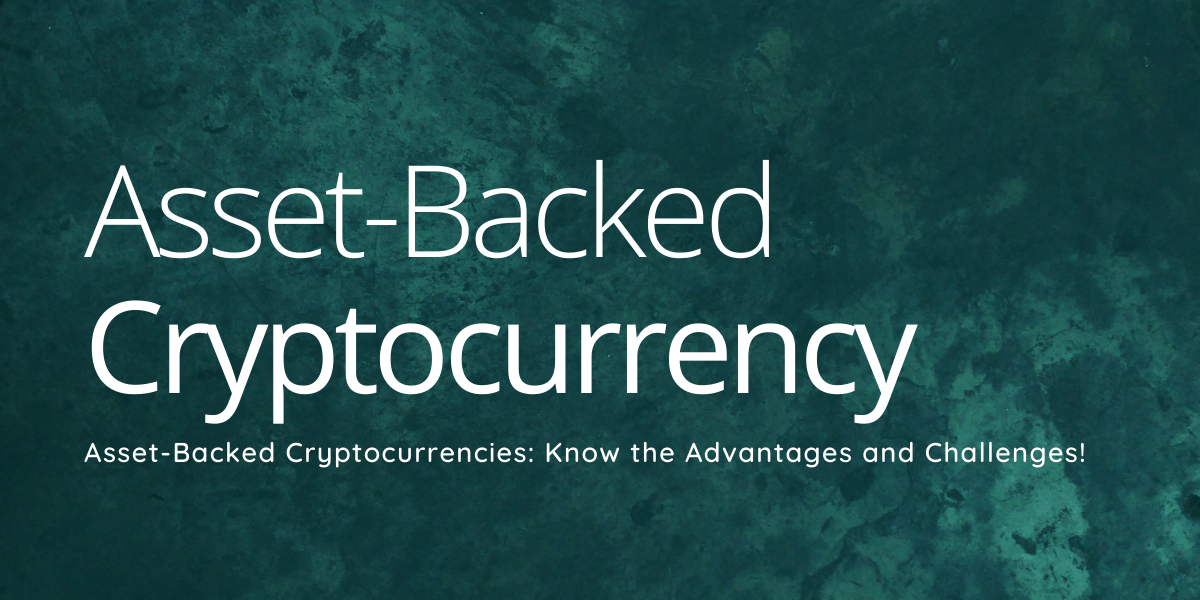Asset-Backed Cryptocurrency